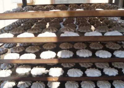Kokosanki przed upieczeniem
