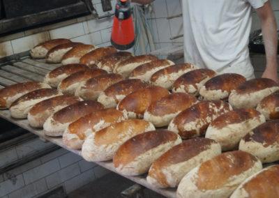 Pryskanie chleba